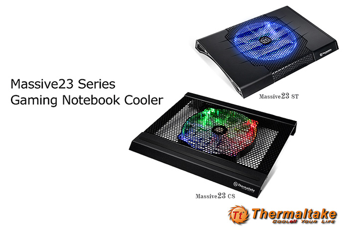 Thermaltake Mssive23 Gaming Notebook Cooler