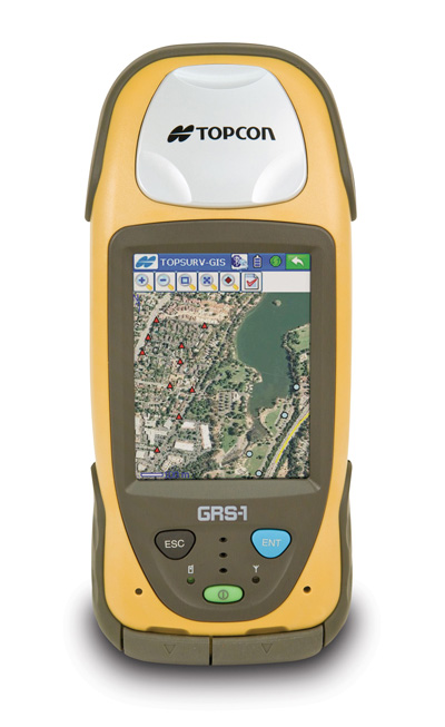 Topcon GRS-1 for mobile GIS mapping