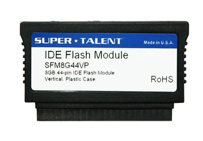 44 pin IDE Flash Disk Module (FDM) with Vertical connector