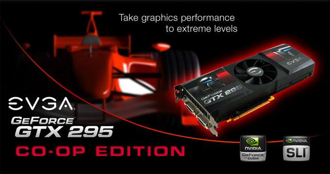 EVGA GeForce GTX295 CO-OP Edition