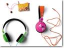 JBL and Roxy earphone and headphone line