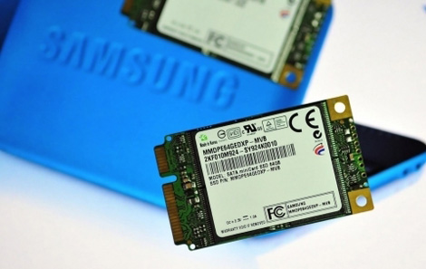 Samsung Solid State Drive with SATA Mini-card Design