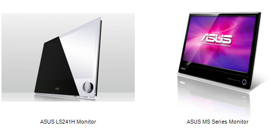ASUS LS and MS Series Ultra Slim Monitors
