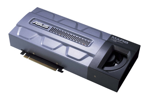 Asus-ROG MARS GTX 295 Graphics Card-Limited Edition