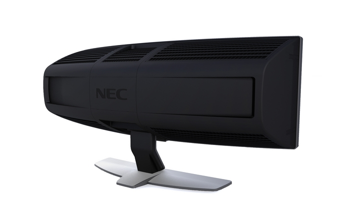 NEC CRV43 curved display