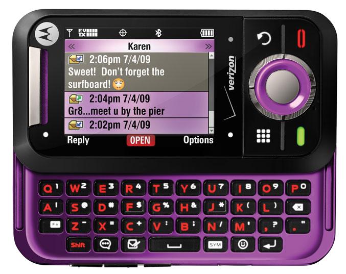 Motorola Rival (A455) purple