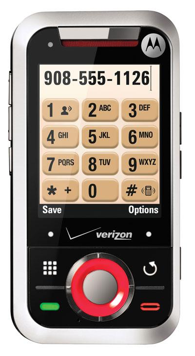 Motorola Rival (A455) silver
