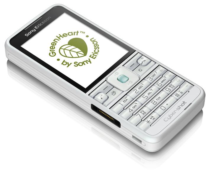 SonyEricsson C901-GreenHear