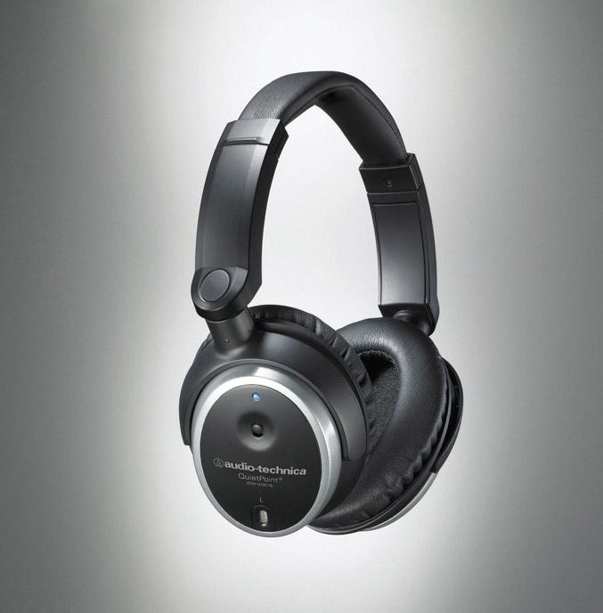 Audio-Technica ATH-ANC7b Active Noise-Cancelling Headphones