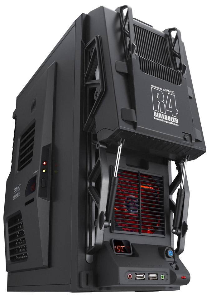 Auzentech R4 black PC Case