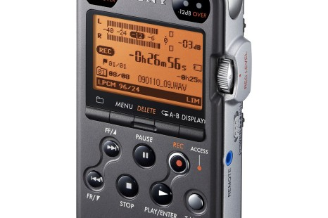 PCM-M10- new digital field recorder from Sony