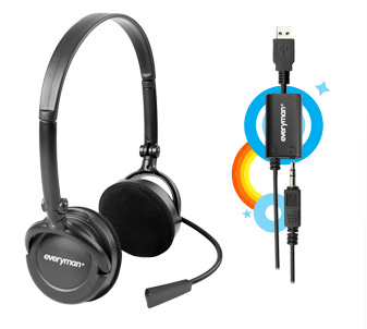 Skype FREETALK Everyman Headset