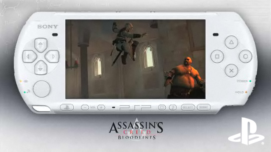 Limited Edition Assassins Creed Bloodlines PSP Entertainment Pack