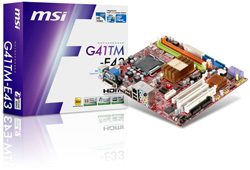 MSI G41 Series of Mainboards