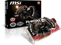 MSI R4890 Cyclone series graphic Card