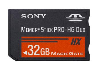 Memory Stick PRO-HG Duo HX
