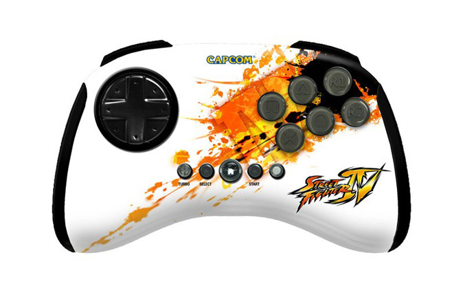 MadCatz Street Fighter IV Fight Pad PS3