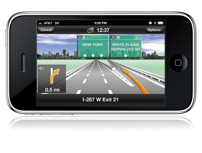 NAVIGON iPhone GPS Navigation