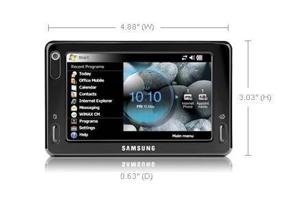 Samsung Mondi specs