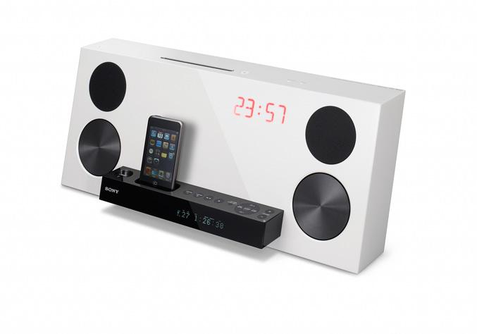Sony CMT-Z100DiR white