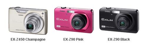 Casio EXILIM digital cameras