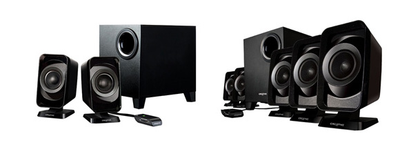 Creative Inspire T3130 and T6160 Speaker System
