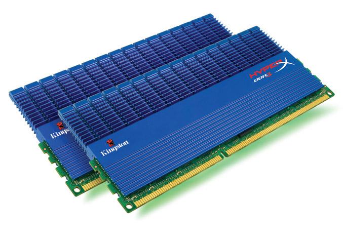 Kingston HyperX DDR3 dual-channel 1.65-volt memory kits