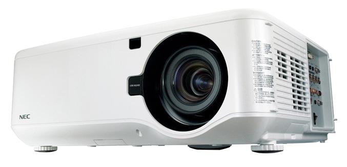 NEC NP4100 projector