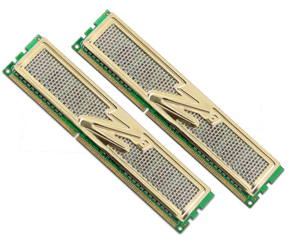 OCZ DDR3 PC3-12800 Gold Low Voltage Dual Channel