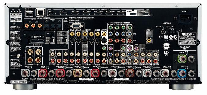Onkyo TX-NR5007 back