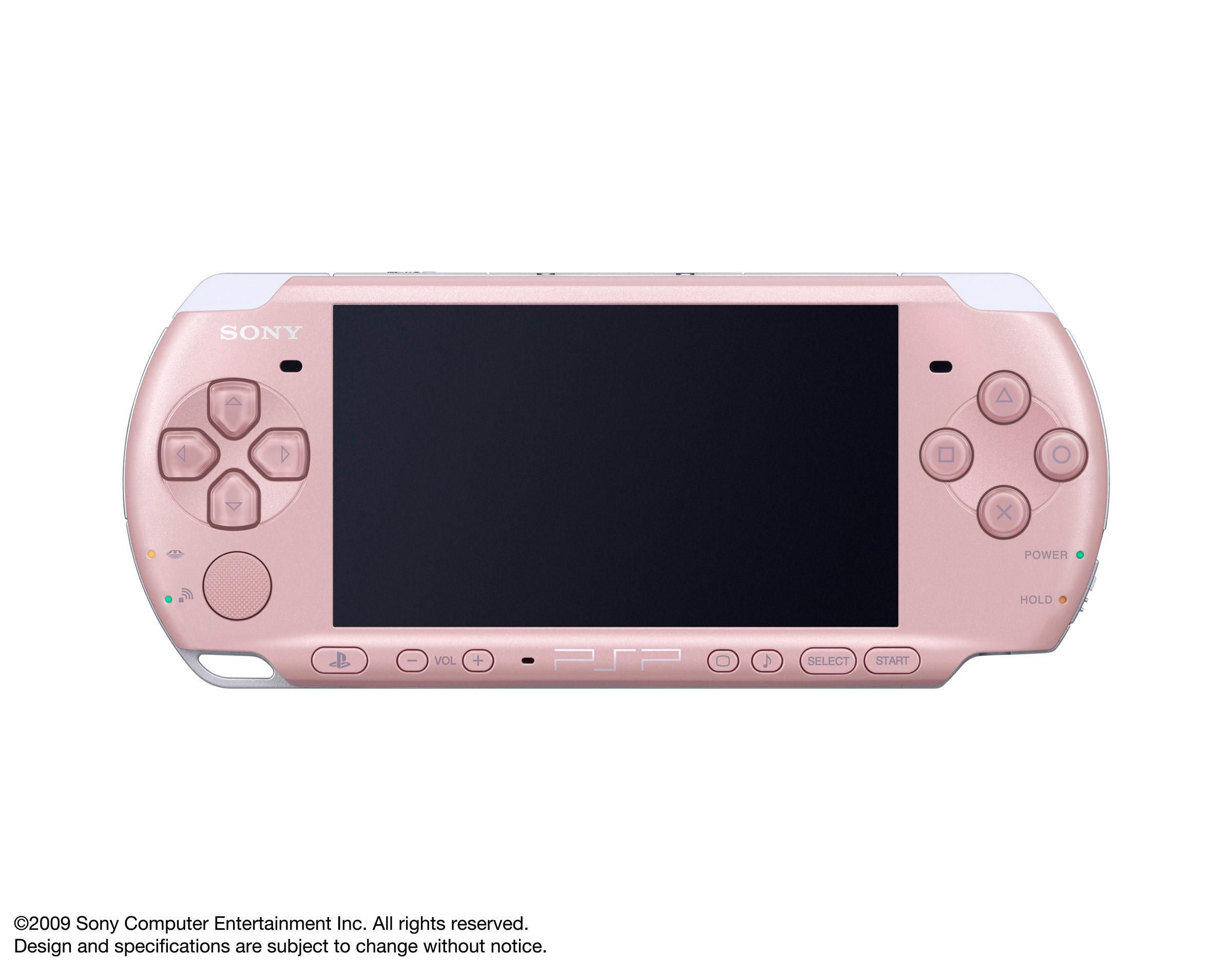 PSP 3000 – Blossom Pink-1