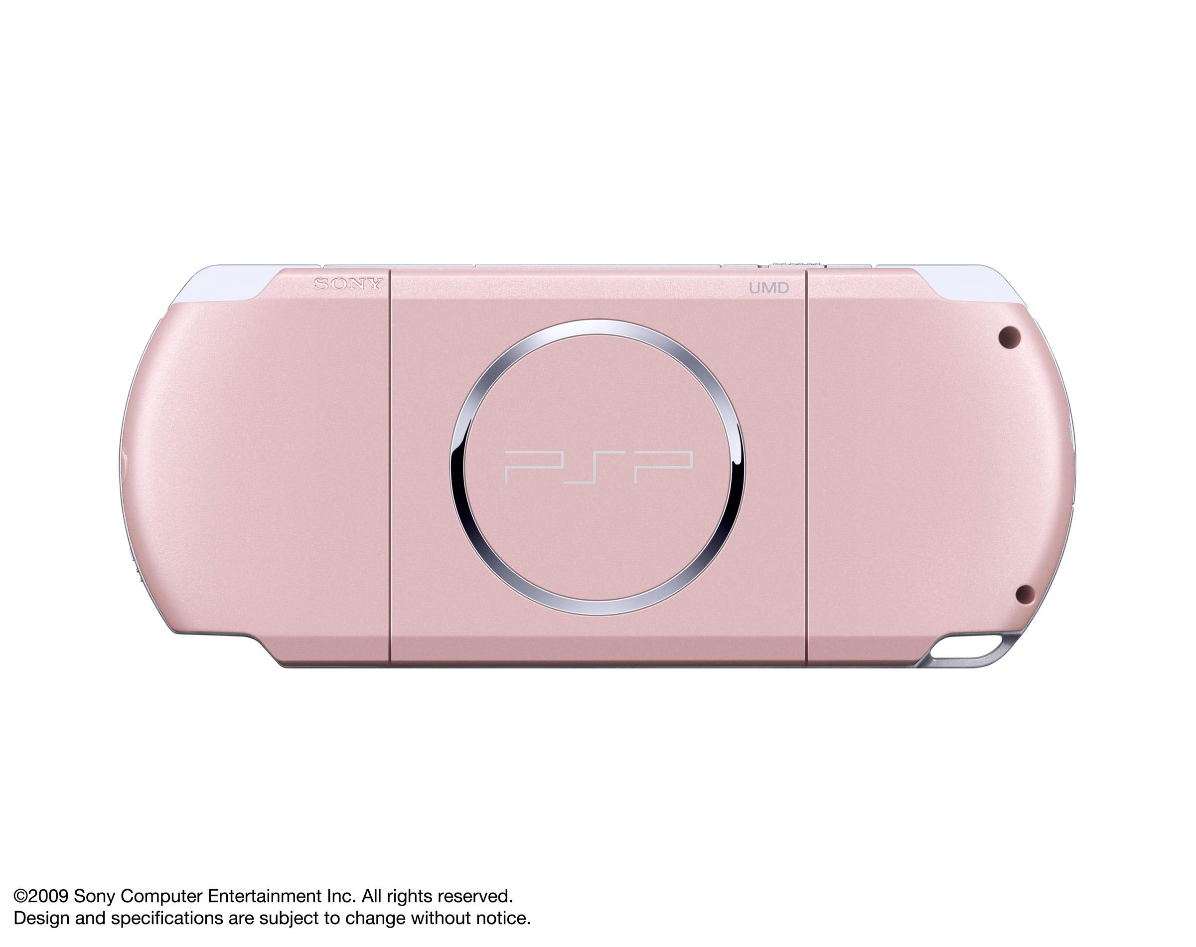 PSP 3000 – Blossom Pink