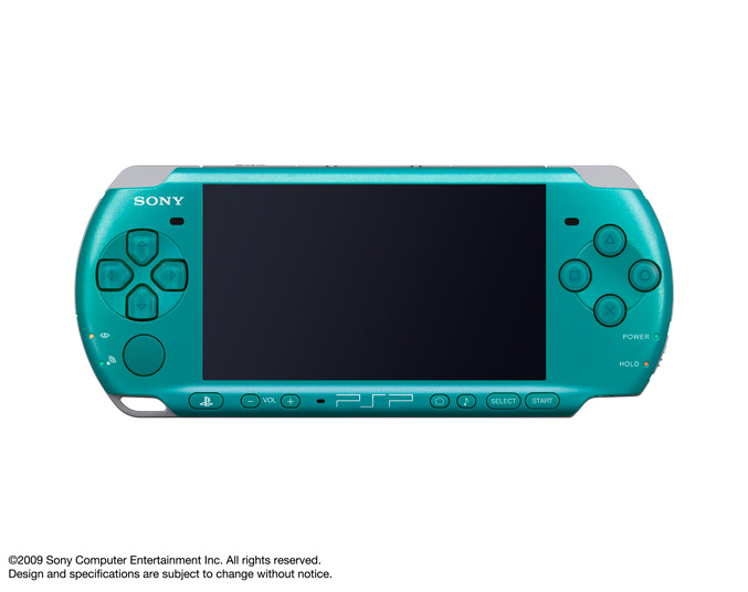 PSP-3000 Turquoise Green