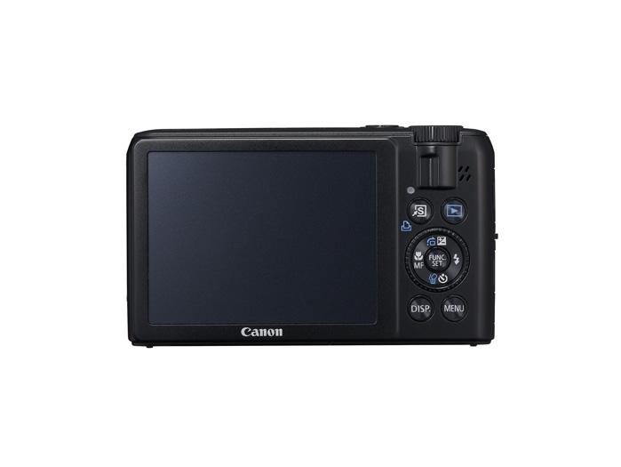 Canon PowerShot S90 back
