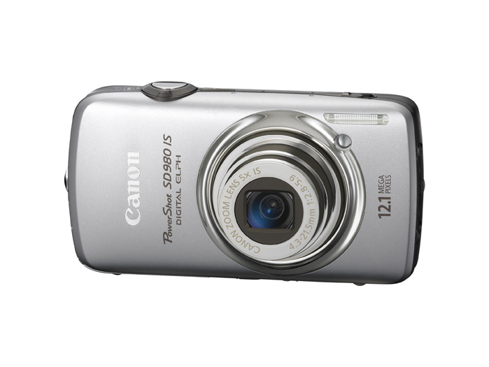 PowerShot SD980 IS – Front – Silver