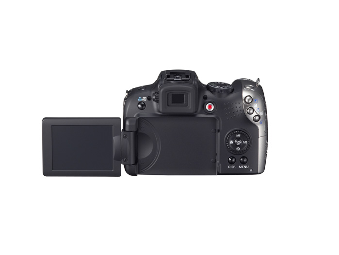 PowerShot SX120 IS - Back