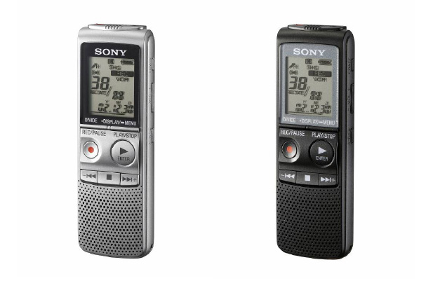 Sony Digital Rrecorder ICD-BX700 and ICD-PX720
