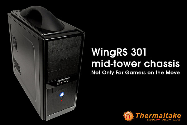 Thermaltake WingRS301 mid - tower chassis