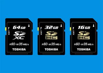 Toshiba SDXC Memory Card