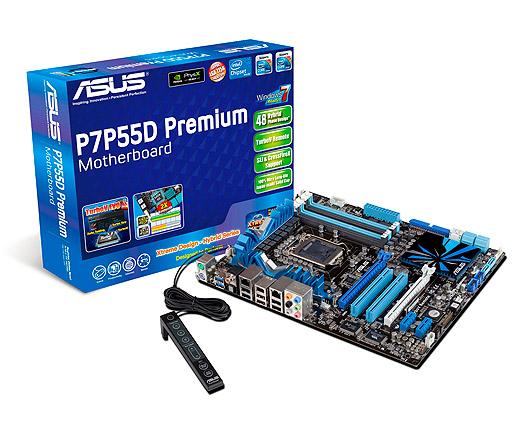 Asus P7P55D Premium motherboard