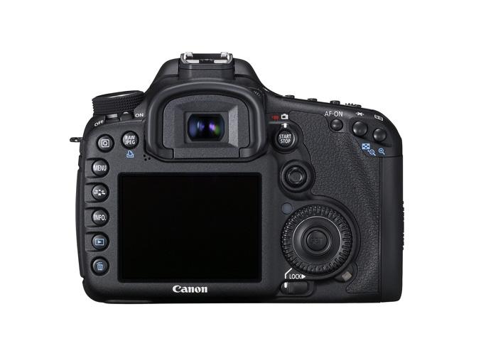 Canon EOS 7D back