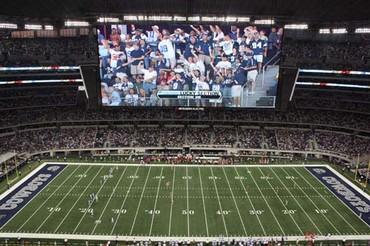 Dallas Cowboys Stadium Sideline Display
