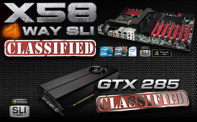 EVGA X58 Classified 4-Way SLI
