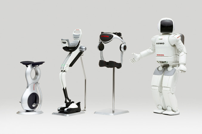 Honda robot technologies