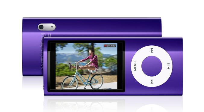 Ipod nano with Bult in Video Camera