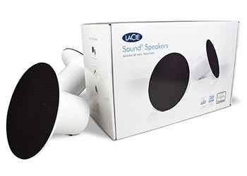 LaCie Sound2 Speakers