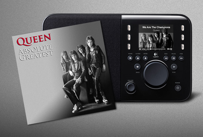 Logitech Squeezebox Radio Queen