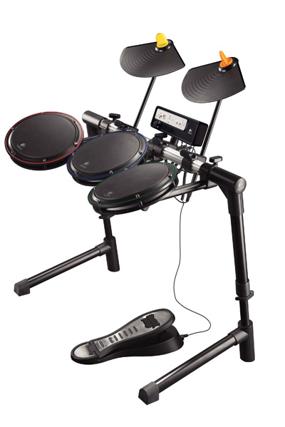 Logitech Wireless Drum Controller for Wii