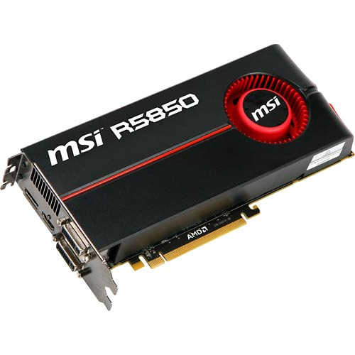 MSI R5850 graphic card