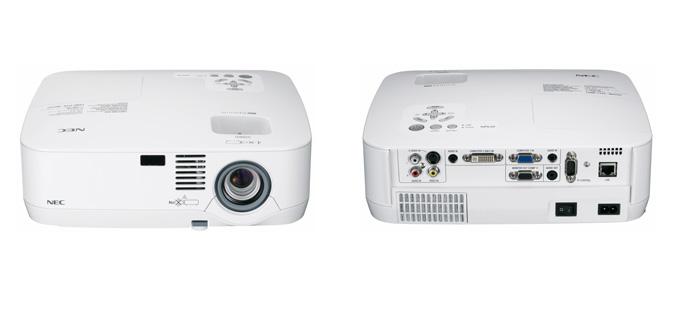 Nec NP portable series projectors